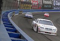 Oct. 11, 2009; Fontana, CA, USA; NASCAR Sprint Cup Series driver A.J. Allmendinger during the Pepsi 500 at Auto Club Speedway. Mandatory Credit: Mark J. Rebilas-