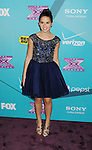 LOS ANGELES, CA - NOVEMBER 05: Carly Rose Sonenclar arrives at FOX's 'The X Factor' finalists party at The Bazaar at the SLS Hotel Beverly Hills on November 5, 2012 in Los Angeles, California.