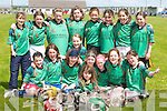 HELMETS: The.Abbeylix (Abbeydorney/.Lixnaw) Under-.10 girls who played.in the Camogie Blitz.at Lerrig on Sunday..Front l-r: Sarah.Sheehan, Aoife.Behan, Aoife O'Mahony,.Caoimhe.Spillane, Muireann.McKenna, Aideen.Spillane, Rose.Molyneaux, Freya.Casey and Chloe.Sheehan. Back l-r:.Nicole Murphy,.Michelle McCarthy,.Louise Horgan,.Louise Casey, Olivia.Stack, Laura O'Connell,.Juileanne.O'Keeffe and Sarah.Egan.