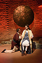 Theatre Accord, in association with Tara Arts, presents PARADISE OF THE ASSASSINS, based on a novel by Abdul Halim Sharar, adapted and directed by Anthony Clark. Design is by Matilde Marangoni. This production marks the opening of the new Tara Theatre. Picture shows: Karl Seth (Khurshah), Skye Hallam (Zamurrud)