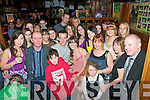 21st Birthday: Sarah Browne, Tanavalla, Listowel, (seated  centre) celebrating her 21st Birthday with family & friends at The Mermaids Bar oin Listowel on Saturday night last.