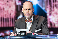 LAS VEGAS, NV - JANUARY 11: Ernie Johnson pictured during a special live NBA On TNT Telecast at CES 2018 in Las Vegas, Nevada on January 11, 2018. Credit: Damairs Carter/MediaPunch