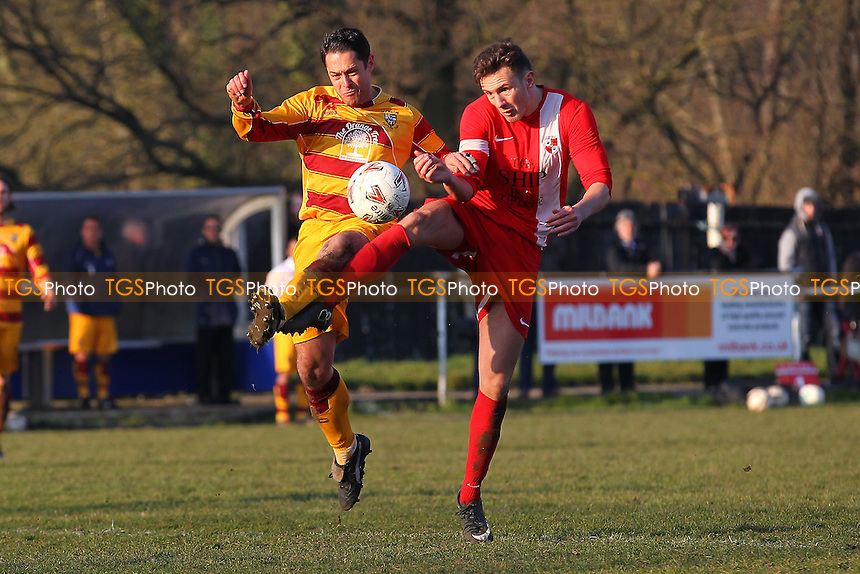 Tiptree Elite vs CFC Shalford Reserves, Braintree & North Essex League Division One Cup Final Football at Rosemary Lane on 13th March 2016