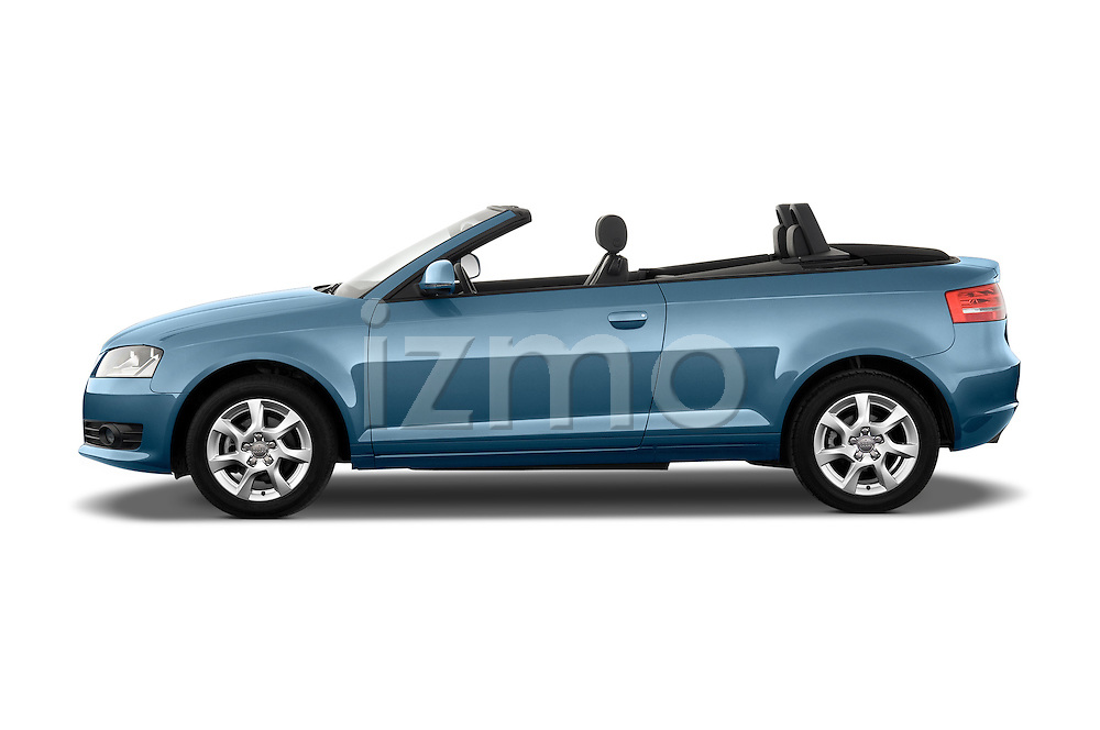 Driver side profile view of a 2003 - 2012 Audi A3 Attraction 2-Door Convertible.