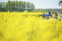 Team Garmin-Sharp<br /> <br /> 2014 Paris-Roubaix reconnaissance