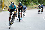Fabio Aru (ITA) Astana makes a break for it during the Italian National Championships 2017 Elite Men road race running 236km from Asti to Ivrea, Piemonte, Italy. 25/06/2017.<br /> Picture: Foto LaPresse/Fabio Ferrari | Cyclefile<br /> <br /> <br /> All photos usage must carry mandatory copyright credit (&copy; Cyclefile | LaPresse/Fabio Ferrari)