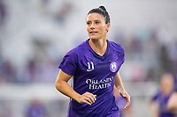 Orlando, FL - Saturday March 24, 2018: Orlando Pride defender Ali Krieger (11) prior to a regular season National Women's Soccer League (NWSL) match between the Orlando Pride and the Utah Royals FC at Orlando City Stadium. The game ended in a 1-1 draw.