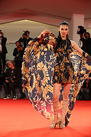 Tao Okamoto walks the red carpet ahead of the 'Manhunt (Zhuibu)' screening during the 74th Venice Film Festival at Sala Darsena on September 8, 2017 in Venice, Italy. <br /> CAP/GOL<br /> &copy;GOL/Capital Pictures