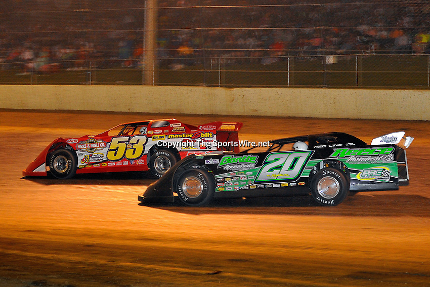 Jun 6, 2009; 11:20:18 PM; Rossburg, OH., USA; The running of the Dream XV  Dirt Late Models at the Eldora Speedway.  Mandatory Credit: (thesportswire.net)