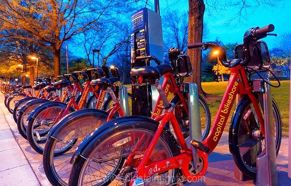 Capital Bikeshare bicycles