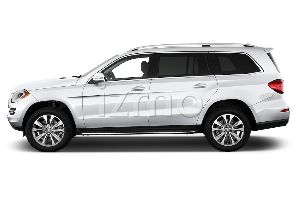 2013 Mercedes GL-Class GL450 Luxury SUV Driver side profile Stock Photo
