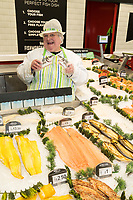 Karen Turner is pictured on her Fish Counter