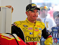 Feb. 28, 2009; Las Vegas, NV, USA; NASCAR Sprint Cup Series driver Clint Bowyer during practice for the Shelby 427 at Las Vegas Motor Speedway. Mandatory Credit: Mark J. Rebilas-