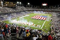 16 September 2006: The stadium halftime performance during Stanford's 37-9 loss to Navy during the grand opening of the new Stanford Stadium in Stanford, CA.