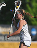 Syosset No. 7 Katelyn Igneri maneuvers for a shot during the second half of a Nassau County varsity girls' lacrosse semifinal against Oceanside at Adelphi University on Tuesday, May 19, 2015. Syosset won by a score of 12-2.<br /> <br /> James Escher