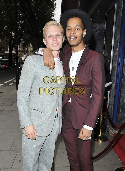 LONDON, ENGLAND - AUGUST 27: Charley Palmer Merkell, Harley Sylvester Alexander Sule  attends the &quot;The Guvnors&quot; VIP film screening, Odeon Covent Garden cinema, Shaftesbury Avenue, on Wednesday August 27, 2014 in London, England, UK. <br /> CAP/CAN<br /> &copy;Can Nguyen/Capital Pictures