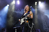 IRON MAIDEN - Dave Murray - performing live on Day Three on the Lemmy Stage at the Download Festival at Donington Park UK - 12 Jun 2016.  Photo credit: Zaine Lewis/IconicPix