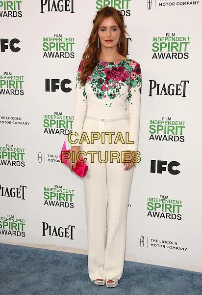 SANTA MONICA, CA - March 01: Ahna O'Reilly at the 2014 Film Independent Spirit Awards Arrivals, Santa Monica Beach, Santa Monica,  March 01, 2014. Credit: Janice Ogata/MediaPunch<br /> CAP/MPI/JO<br /> &copy;JO/MPI/Capital Pictures