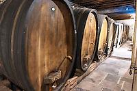 wooden vats domaine faller weinbach kaysersberg alsace france