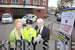 Launching a new phoneline and website for victim of crime in Kerry on Wednesday from l-r were: Cllr. Mairead Fernane (Chairperson of National Victims Assistance), Garda Deirdre Quinn O'Doherty (Liason Garda for the Tralee Area) and Mayor of Tralee Johnny Wall.