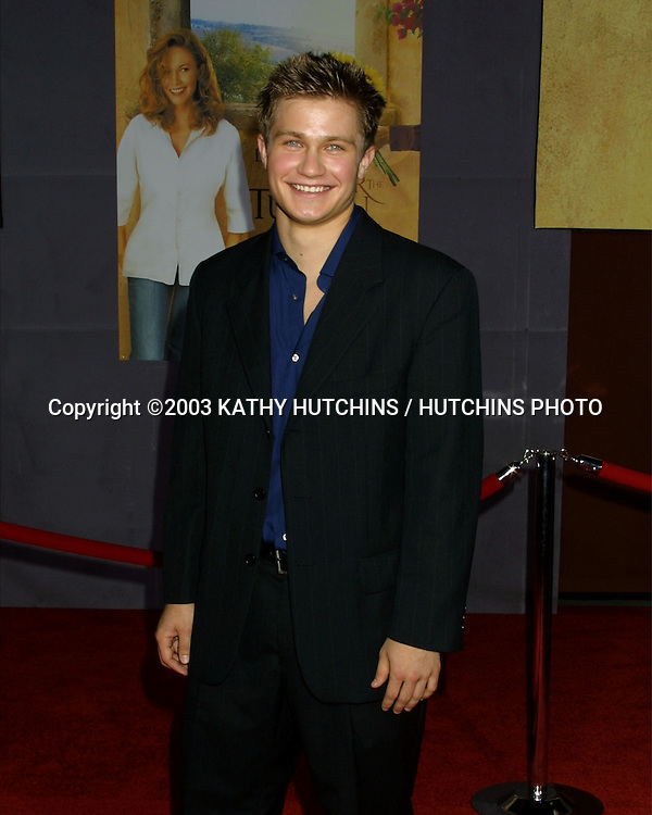 "©2003 KATHY HUTCHINS / HUTCHINS PHOTO.WORLD PREMIERE OF ""UNDER THE TUSCAN SUN"".EL CAPITAN THEATER.HOLLYWOOD, CA  .SEPTEMBER 20, 2003..PAWEL SZAJDA"