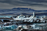 Jokulsarlon, Glazier lagoon, south east of Reykjavik