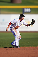 Peoria Javelinas Zach Vincej (3), of the Cincinnati Reds organization, during a game against the Scottsdale Scorpions on October 22, 2016 at Peoria Stadium in Peoria, Arizona.  Peoria defeated Scottsdale 3-2.  (Mike Janes/Four Seam Images)