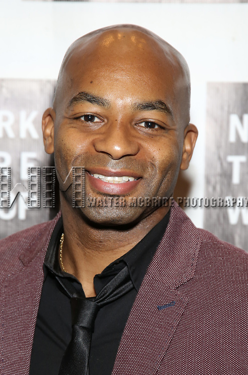 Brandon Victor Dixon attends New York Theatre Workshop's 2017 Spring Gala at the Edison Ballroom on May 15, 2017 in New York City.