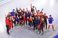 SCHAATSEN: HEERENVEEN: 14-07-2017, IJsstadion Thialf, training zomerijs, Peter Kolder, Team China ©foto Martin de Jong