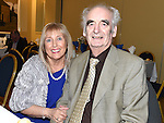Paddy and Mary McQuillan pictured at Naomh Mairtin Annual Reunion Dinner Dance in the Grove House Dunleer. Photo:Colin Bell/pressphotos.ie