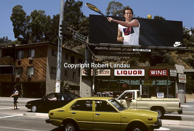 John McEnroe Nike Billboard circa 1980s