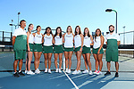DENTON, TX - NOVEMBER18: North Texas Mean Green Tennis media day at Waranch Tennis Center on November 18, 2019 in Denton, Texas.