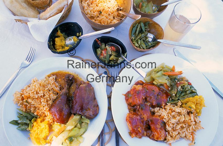 Karibik, Kleine Antillen, Grenada: Kreolisches Essen | Caribbean, Lesser Antilles, Grenada: Creole Dishes