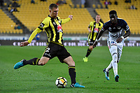 Wellington Phoenix&rsquo; Daniel Mullen in action during the A League - Wellington Phoenix v Melbourne Victory FC at Westpac Stadium, Wellington, New Zealand on Wednesday 10 January 2018. <br /> Photo by Masanori Udagawa. <br /> www.photowellington.photoshelter.com