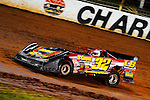 Nov 04, 2009; 7:16:25 PM; Concord, NC, USA; The Topless Showdown presented by Hungry-Man features the cars and stars of the World of Outlaws Late Model Series competing at The Dirt Track @ Lowe's Motor Speedway.  Mandatory Credit: (thesportswire.net)