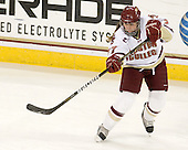 Danielle Welch (BC - 17) - The Boston College Eagles defeated the visiting Harvard University Crimson 6-2 on Sunday, December 5, 2010, at Conte Forum in Chestnut Hill, Massachusetts.