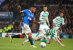 08.11.2019 League Cup Final, Rangers v Celtic: Alfredo Morelos in the box