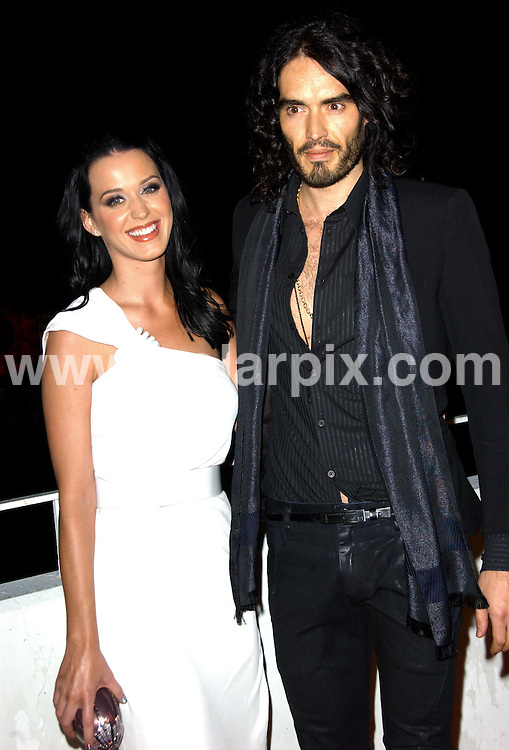 "**ALL ROUND PICTURES FROM SOLARPIX.COM**.**SYNDICATION RIGHTS FOR UK, AUSTRALIA, DENMARK, PORTUGAL, S. AFRICA, SPAIN & DUBAI (U.A.E) ONLY**.The Art Of Elysium's 3rd Annual ""Heaven"" Black Tie Charity Gala held at Wilshire Blvd in Beverly Hills CA. USA ..This pic:Katy Perry and Russell Brand..JOB REF:10475    PHZ/Ortega    DATE: 16.01.2010.**MUST CREDIT SOLARPIX.COM OR DOUBLE FEE WILL BE CHARGED**.**MUST NOTIFY SOLARPIX OF ONLINE USAGE**.**CALL US ON: +34 952 811 768 or LOW RATE FROM UK 0844 617 7637**"