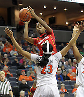20140123_Maryland vs UVa Womens Basketball
