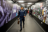 Luciano Narsingh ofSwansea City arrives ahead of the Premier League match between Swansea City and Leicester City at The Liberty Stadium, Swansea, Wales, UK. Sunday 12 February 2017
