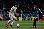 Real Madrid's Gareth Bale during La Liga match between Real Madrid and SD Huesca at Santiago Bernabeu Stadium in Madrid, Spain. March 31, 2019. (ALTERPHOTOS/A. Perez Meca)