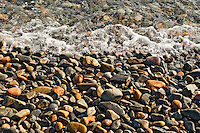 Rocky beach detail, Bernard, Maine, ME