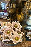 USA, Oregon, Ashland, detail of candles at a store called Papaya Living