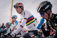 Elite Men CX World Champion Wout van Aert (BEL/Cibel-Cebon) on the start line<br /> <br /> GP Mario De Clercq / Hotond cross 2018 (Ronse, BEL)<br /> photo &copy;kramon