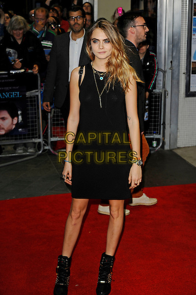 LONDON, ENGLAND - OCTOBER 18: Cara Delevingne attends 'The Face Of An Angel' Screening at the 58th BFI London Film Festival at Odeon West End Cinema, Leicester Square on October 18, 2014 in London, England.<br /> CAP/MAR<br /> &copy; Martin Harris/Capital Pictures