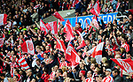 Stoke City fans start a party during the Championship League match at The Britannia Stadium, Stoke. Picture date 4th May 2008. Picture credit should read: Simon Bellis/Sportimage