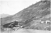 Breaker Anthracite Mine showing super's house, clerk's house &amp; stable, and board house in distance.<br /> D&amp;RGW  near Crested Butte, CO