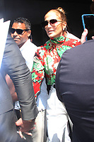 NEW YORK, NY - AUGUST 2:  Jennifer Lopez  seen leaving NBC's Today Show in New York City on August 2, 2018. <br /> CAP/MPI/RW<br /> &copy;RW/MPI/Capital Pictures