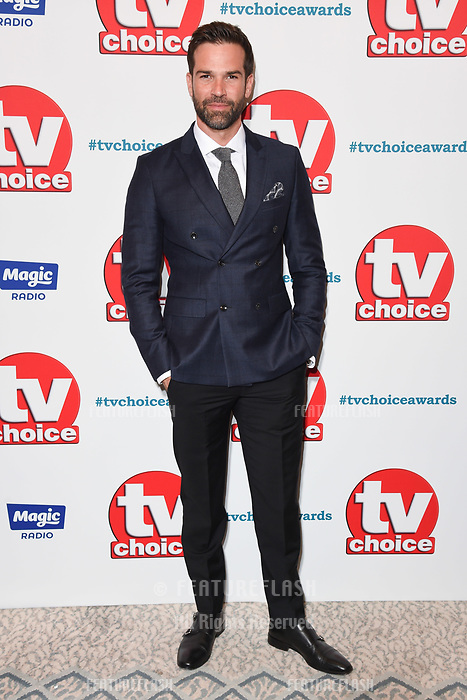 LONDON, UK. September 10, 2018: Gethin Jones at the TV Choice Awards 2018 at the Dorchester Hotel, London.<br /> Picture: Steve Vas/Featureflash