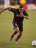 Ricardo Clark of the MetroStars during a game against the GalaxyThe LA Galaxy tied the NY/NJ MetroStars 1-1 on 4/19/03 at Giant's Stadium, NJ.